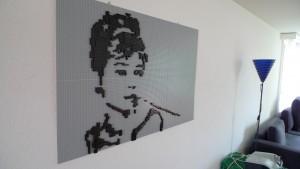 Audrey Hepburn aus Lego
