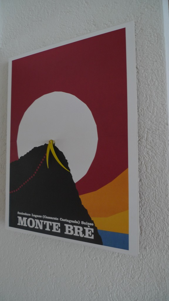 Wanduhr Monte Brè